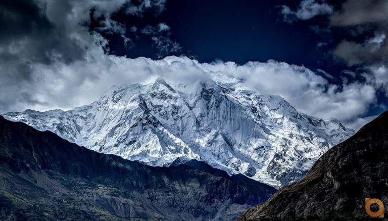 "Rakaposhi peak is the 27th highest peak in the world. Rakaposhi means ""shining wall"" or ""snow-covered""."